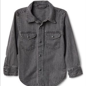 GAP baby boy denim shirt - 18-24 months